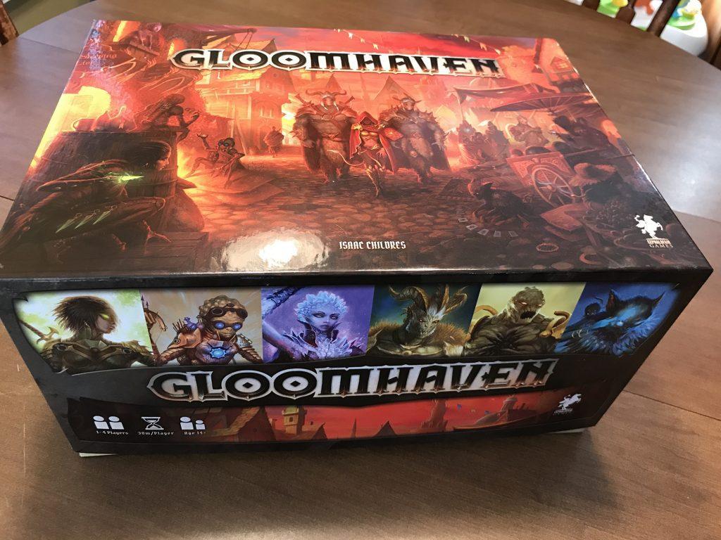 Gloomhaven box exterior