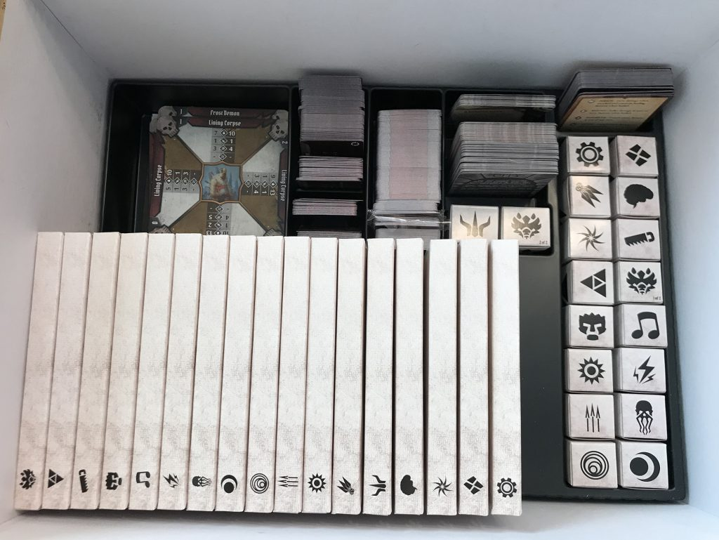 Gloomhaven box interior