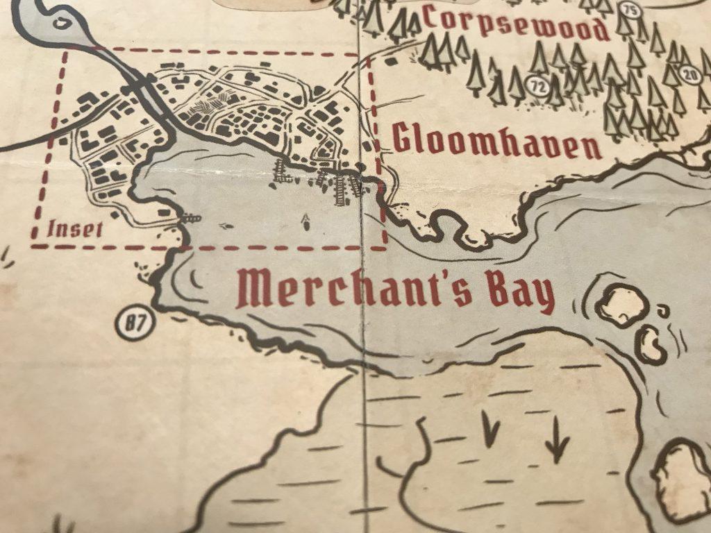 The area surrounding Gloomhaven