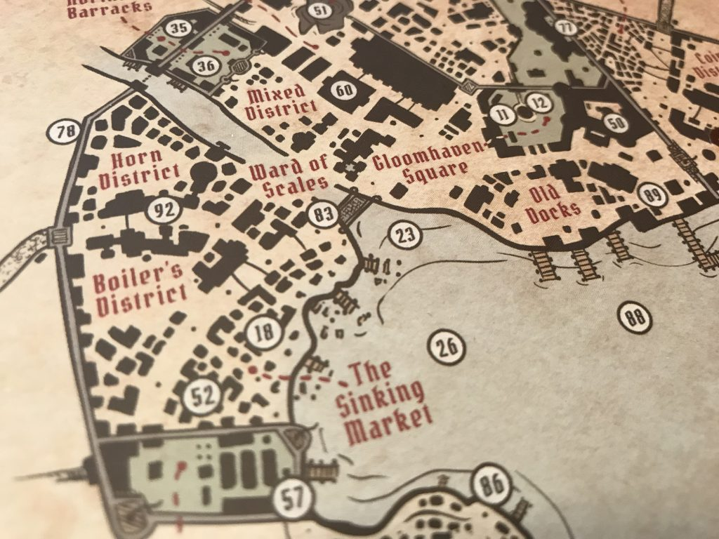 The city of Gloomhaven