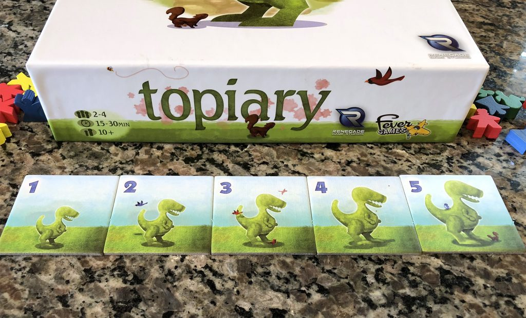 Trex tiles from 1 to 5