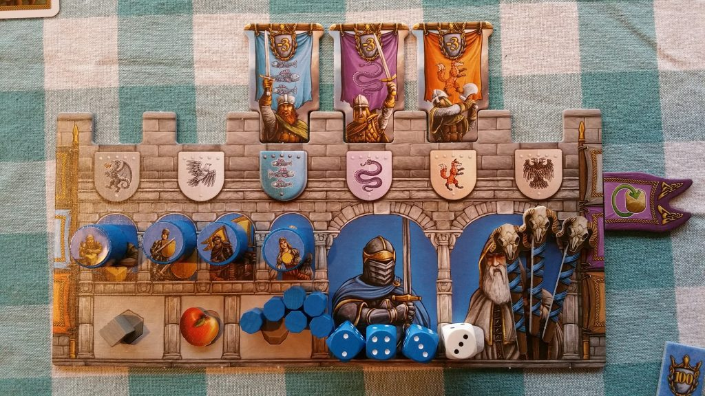 Merlin castle board
