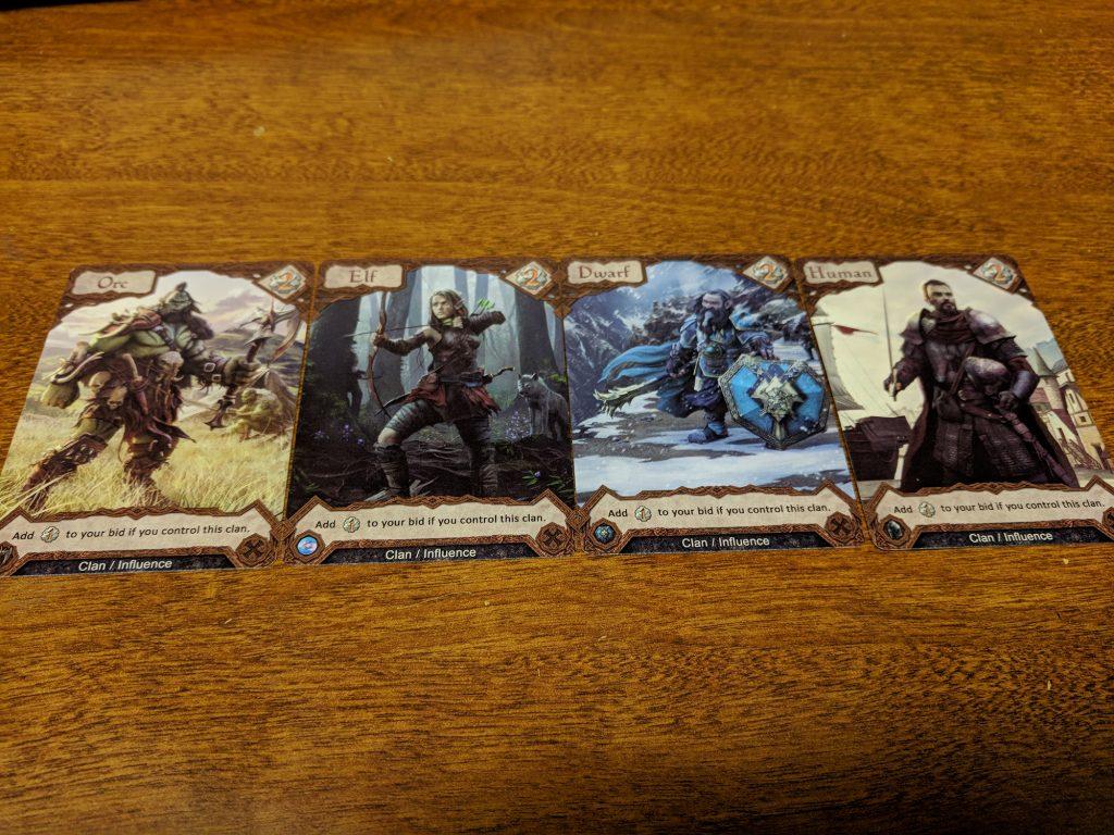 Arkon clan cards
