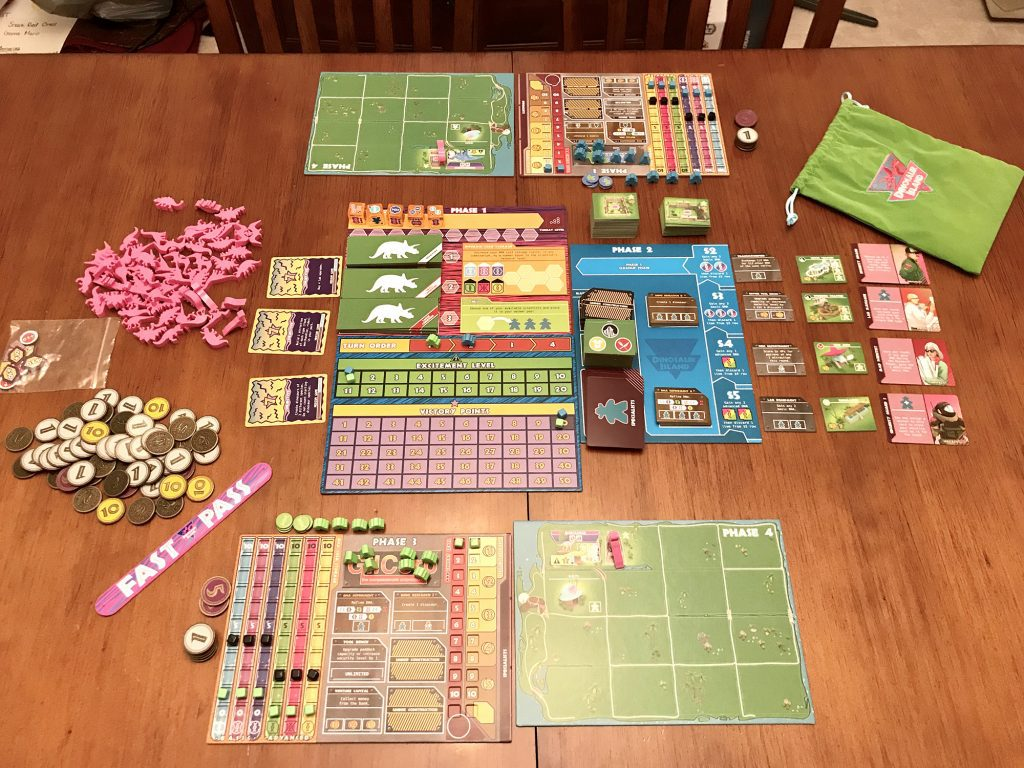 Dinosaur Island Review - Hold on to Your Butts | Meeple ...