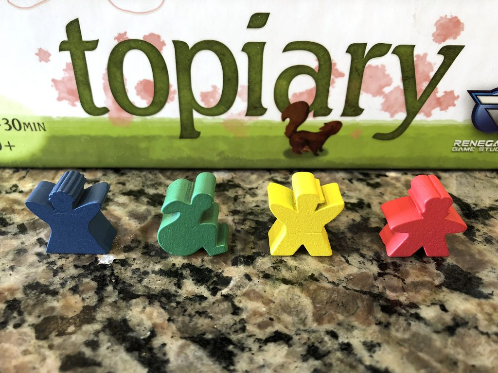 Distinct and unique meeple shapes