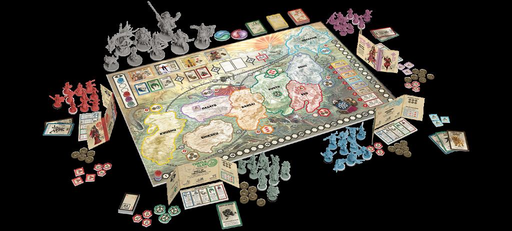 Rising Sun game board.