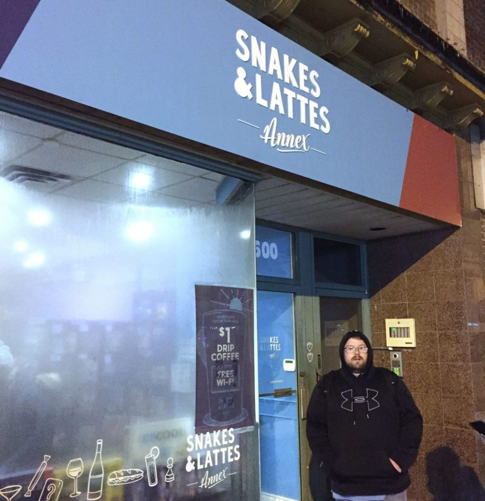 Snakes & Lattes Annex location