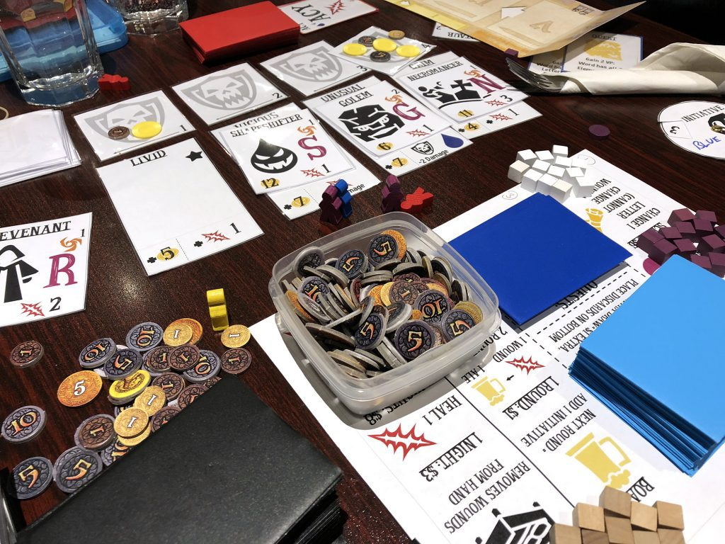 Spell Smashers, the upcoming game from Christopher Chung