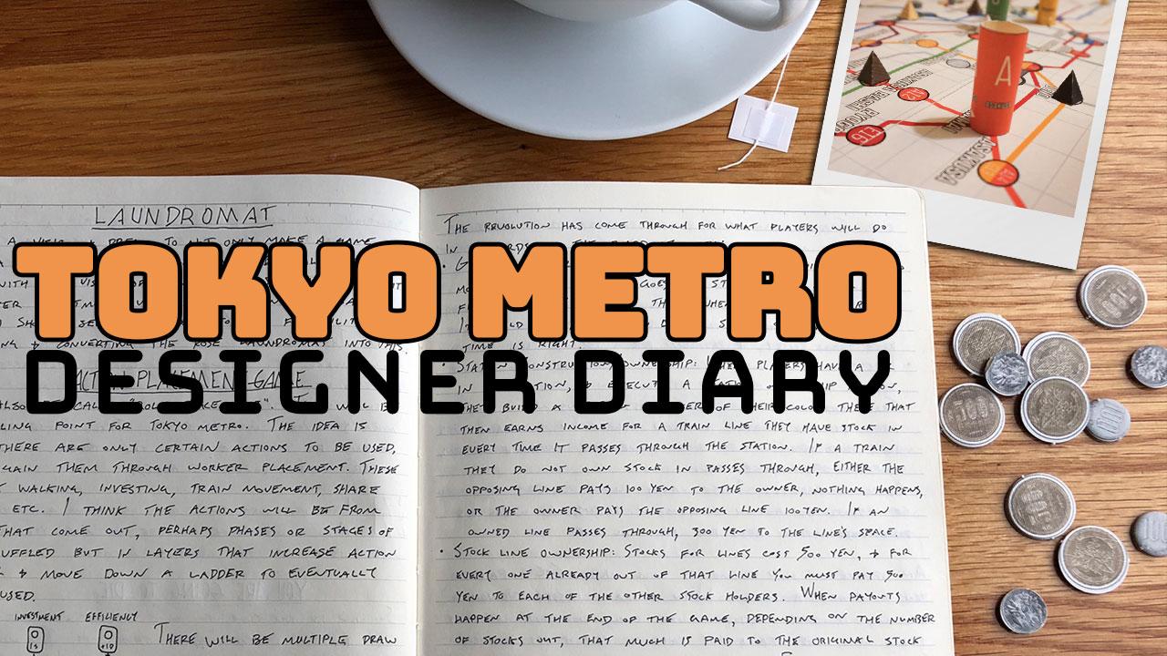 Tokyo Metro Designer Diary header