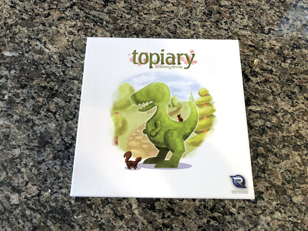 Topiary cover artwork