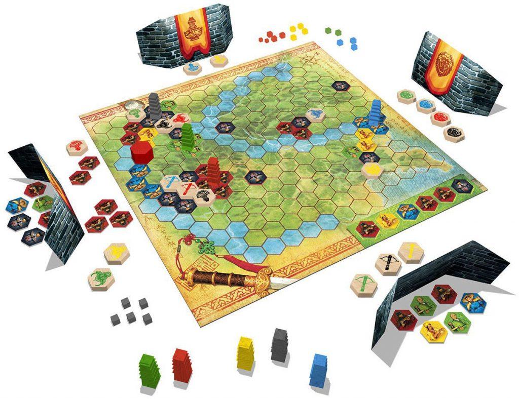 Yellow & Yangtze game board