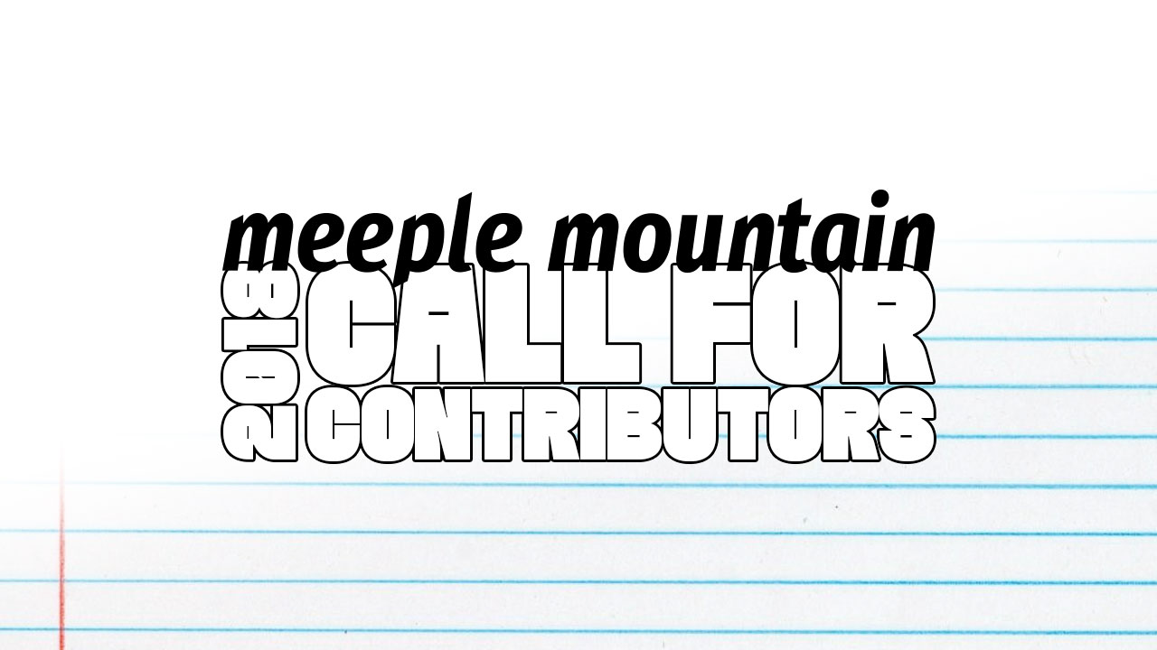 2018 Call for contributors header