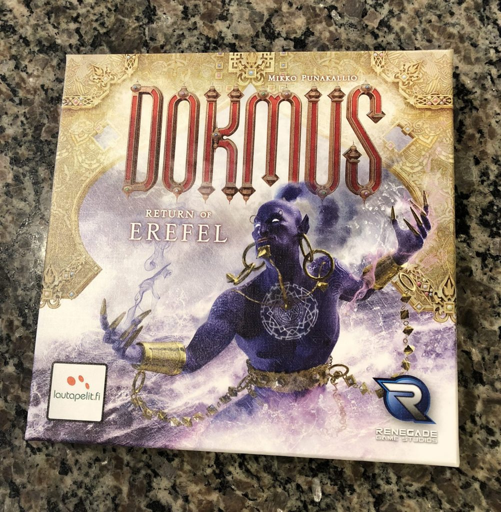 Dokmus Return of Erefel cover