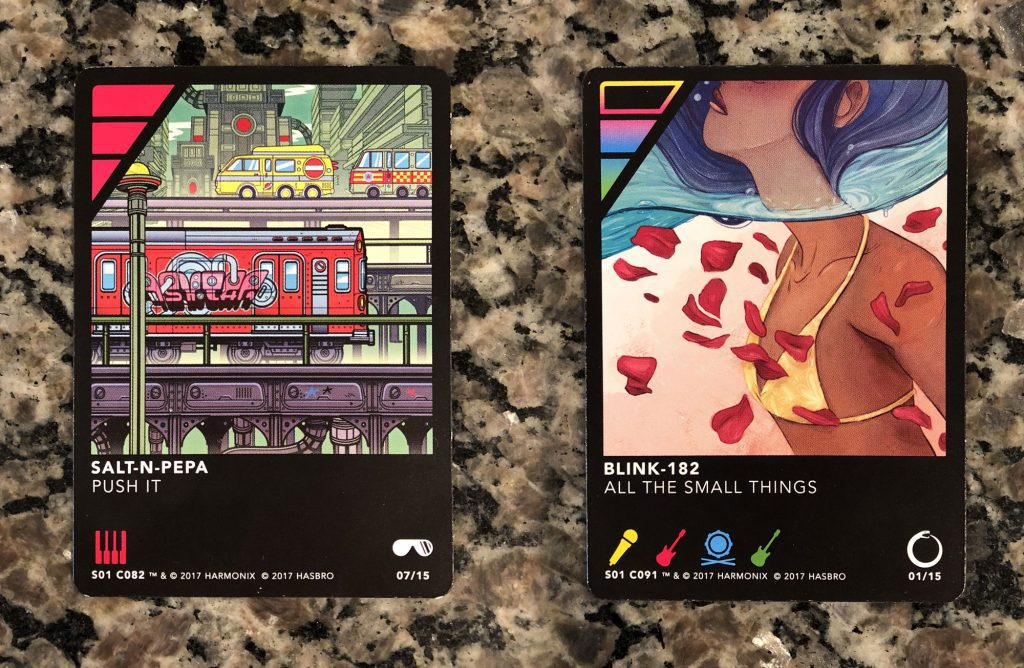 Dropmix card examples