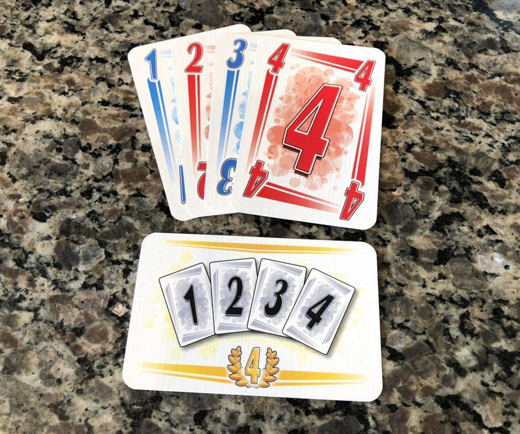 Mission card - wild straight 1-4