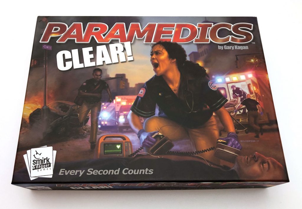 Paramedics: Clear! cover