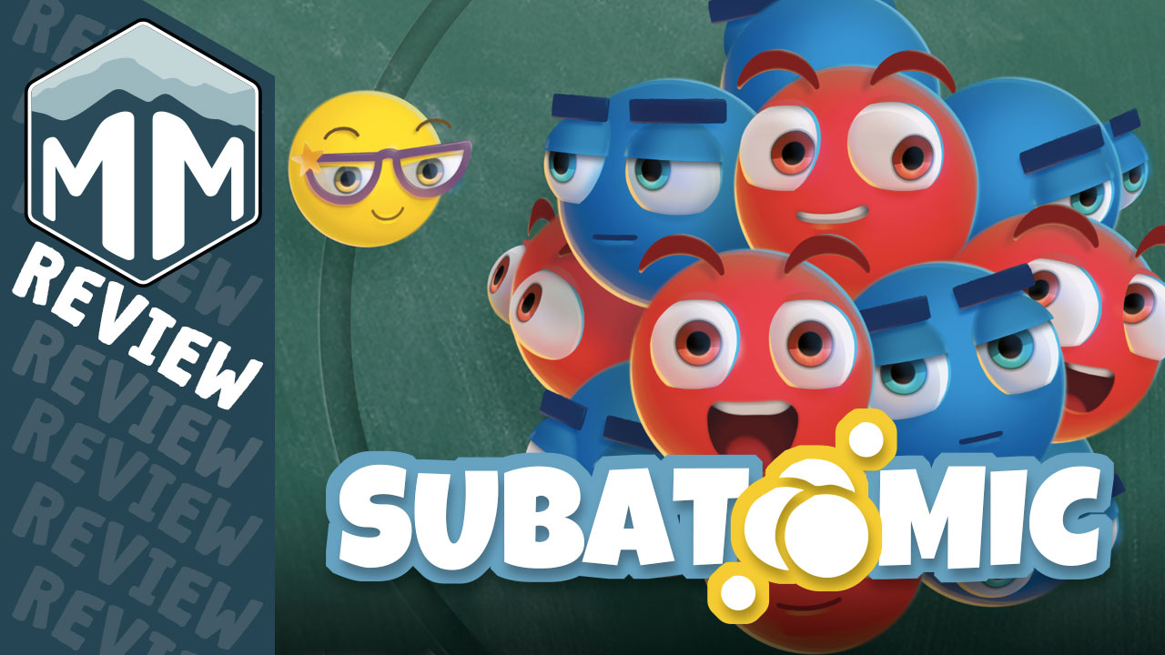 Subatomic: An Atom Building Game Review | Meeple Mountain