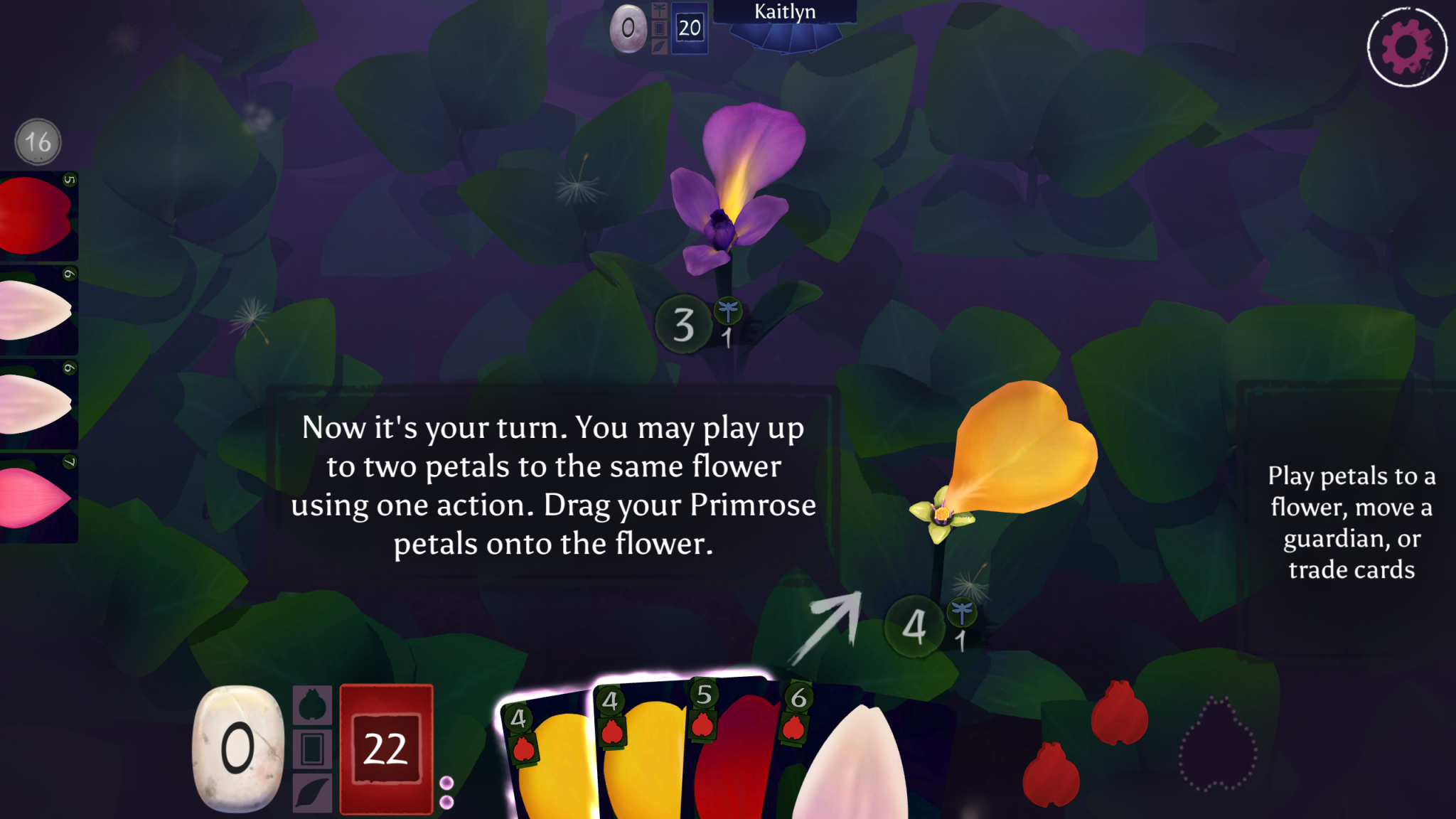 Lotus Digital Review Petals In Your Palm Meeple Mountain