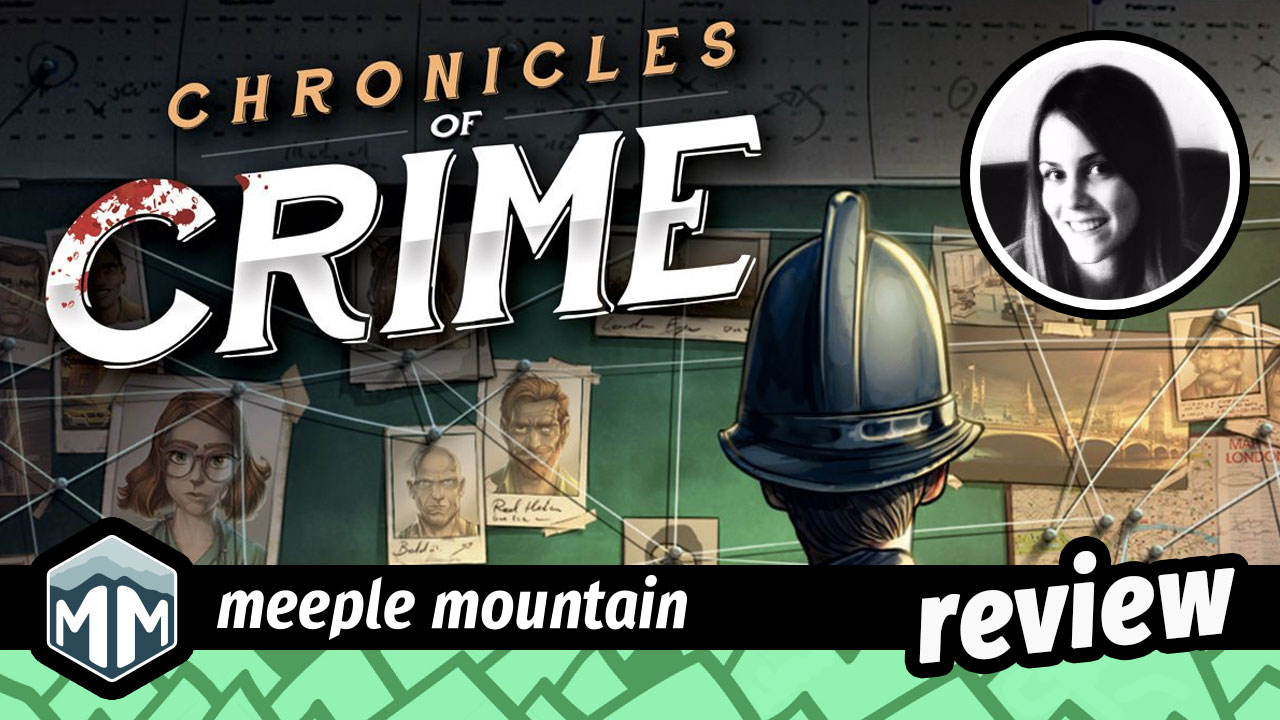 Chronicles of Crime Preview & Initial Thoughts: Watch Out