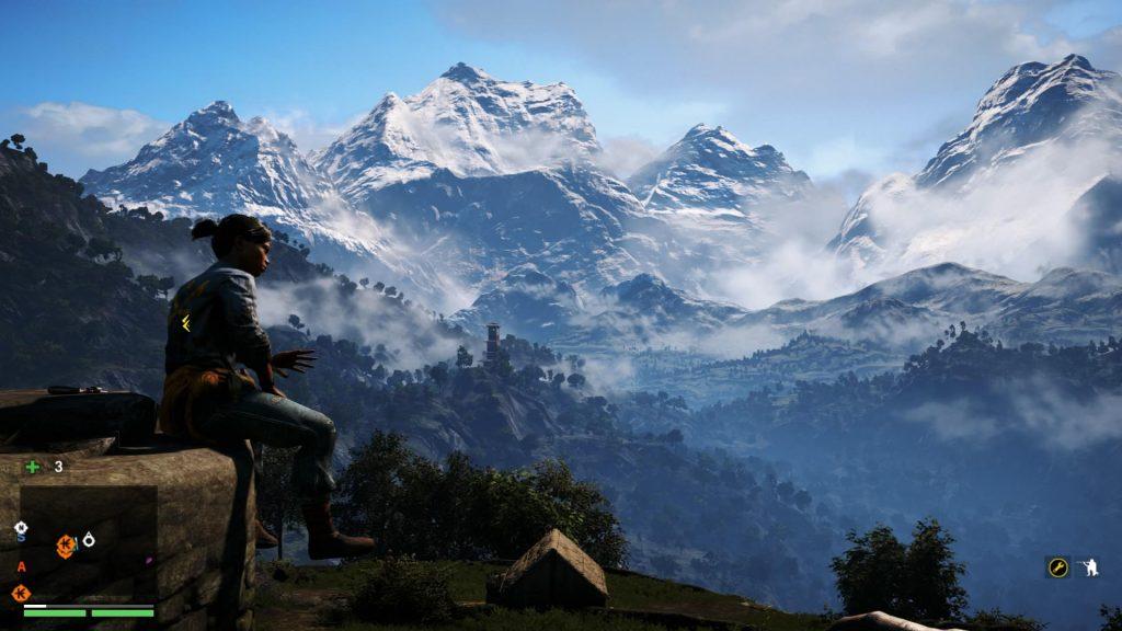 Far Cry landscape