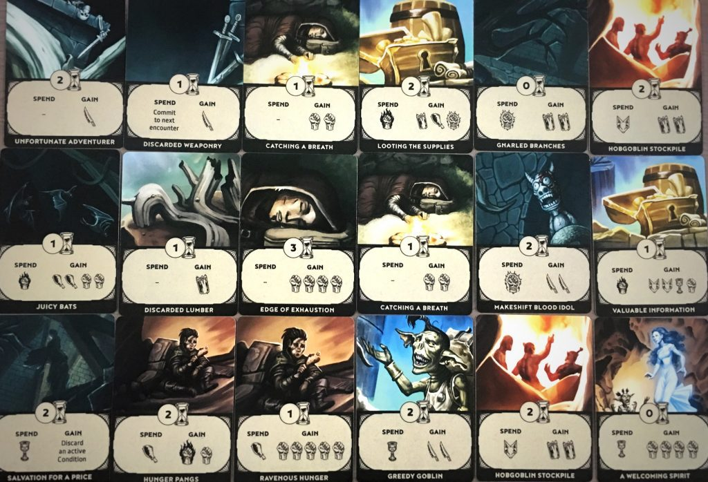 encounter deck samples