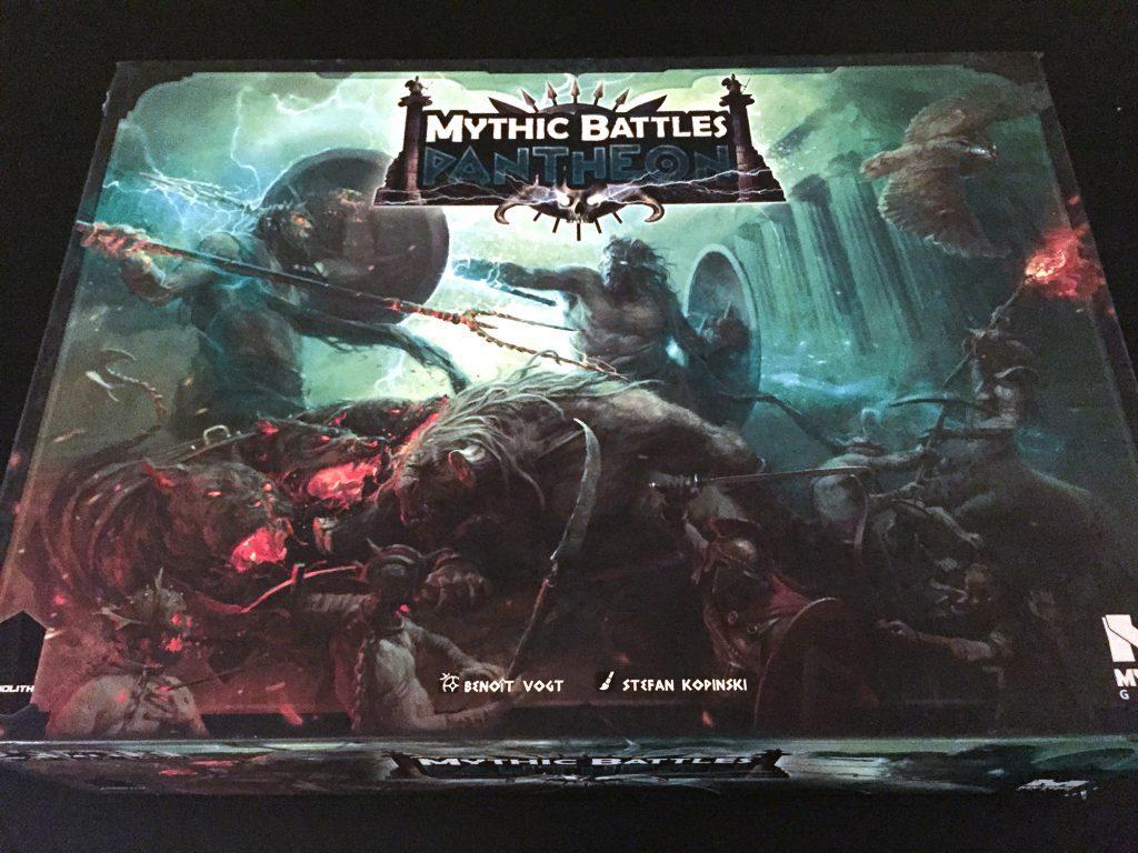 Mythic Battles box