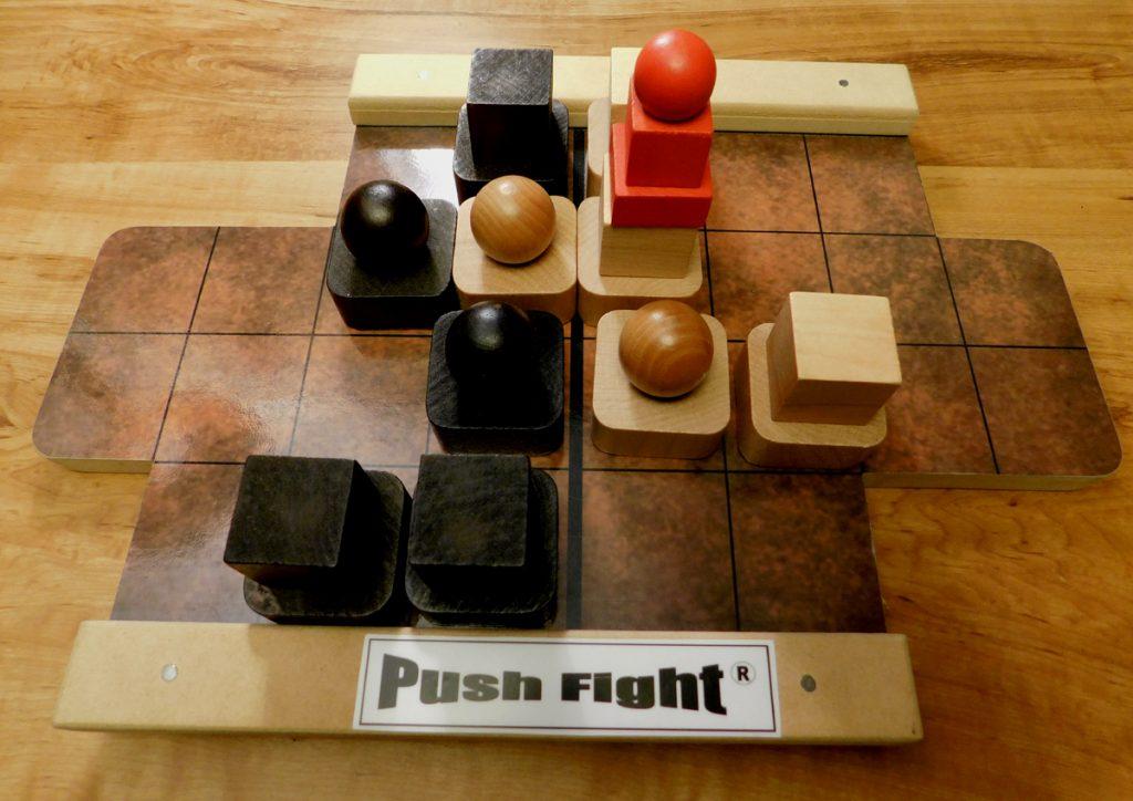 Push Fight progress