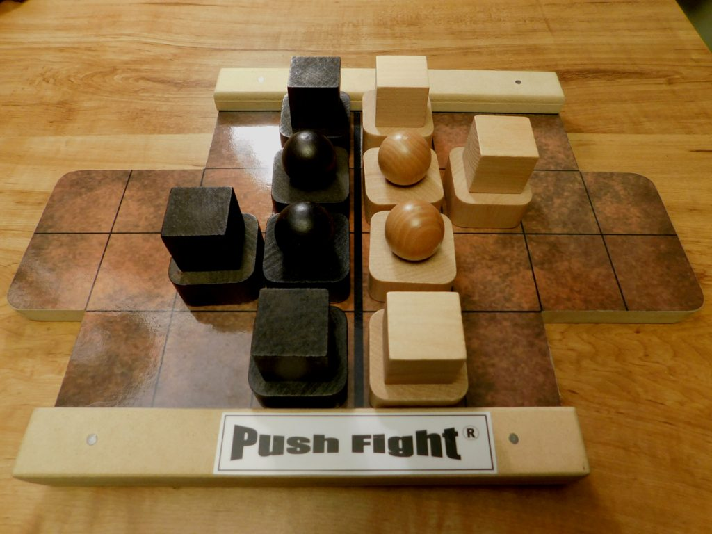 Push Fight setup