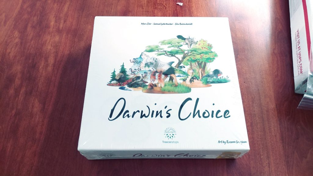 Darwin's Choice box