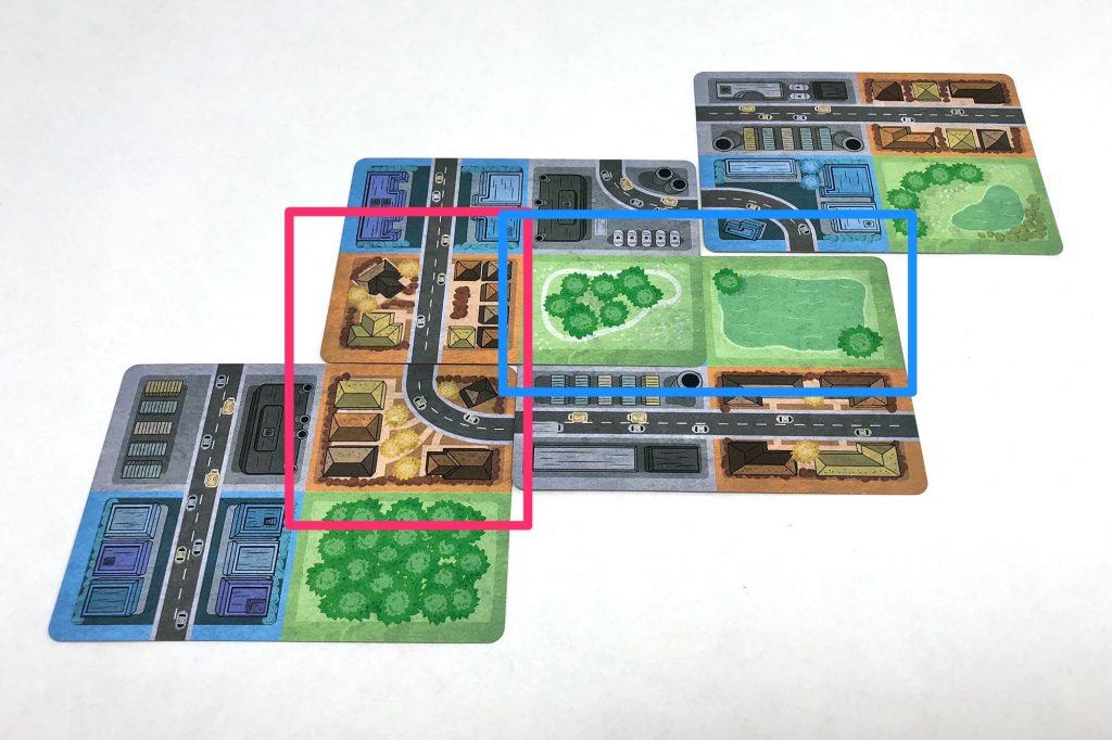 Grouped blocks
