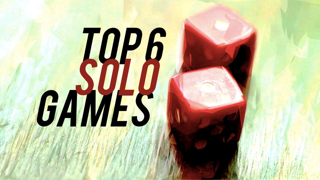 Top 6 Solo Games header