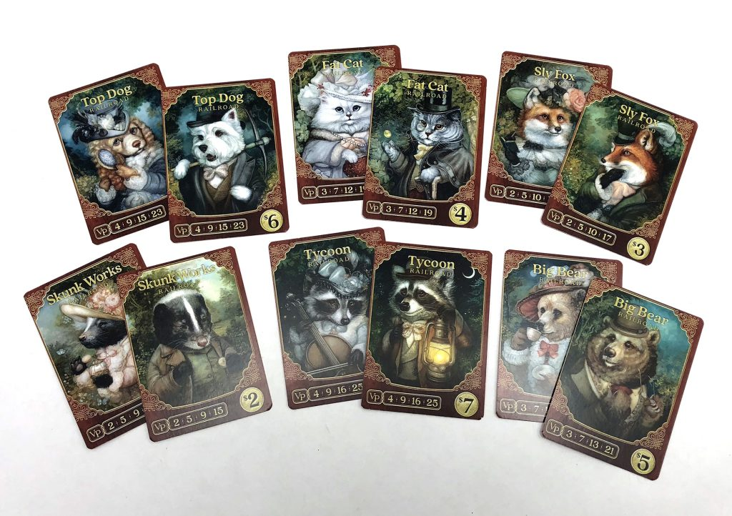 Animal tycoon cards