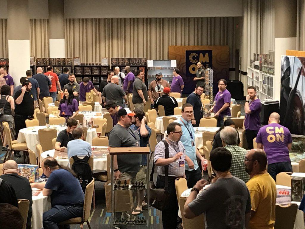 CMON Expo game hall