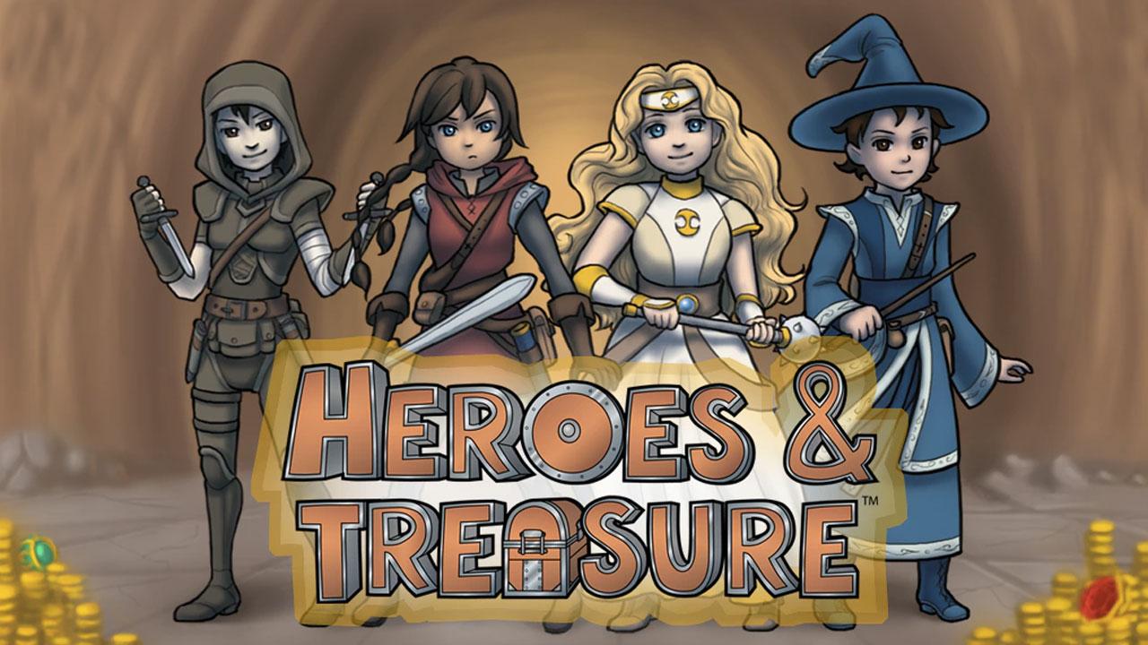 Heroes & Treasure review header