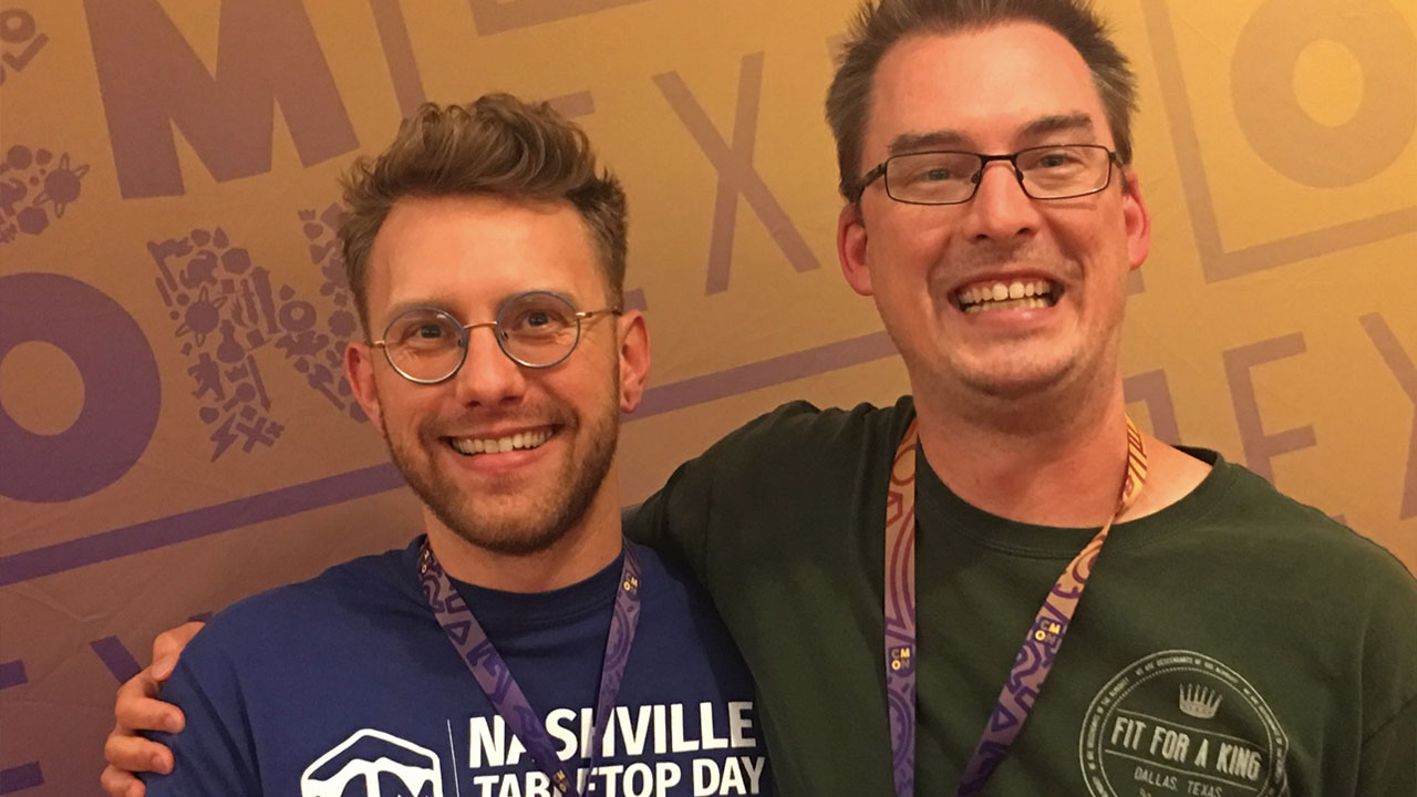 Phil & Justin Do CMON Expo 2018 header