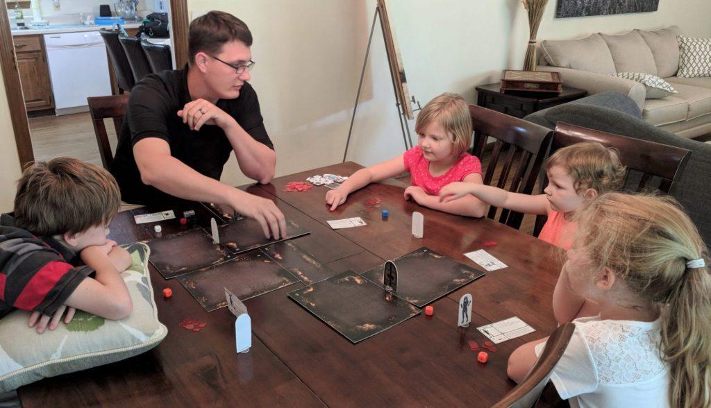 Playing Heroes & Treasures