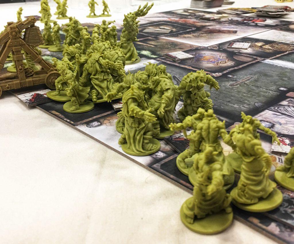 Zombicide Green Horde miniatures