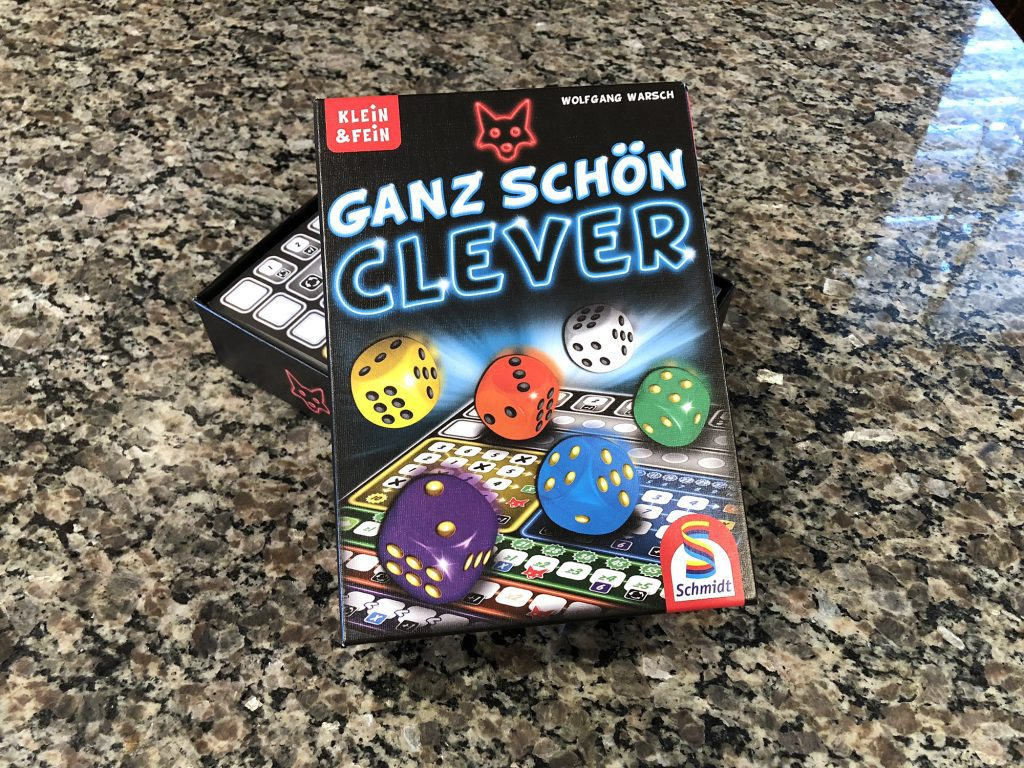 Ganz schön clever Review - Clever is as Clever Does | Meeple Mountain
