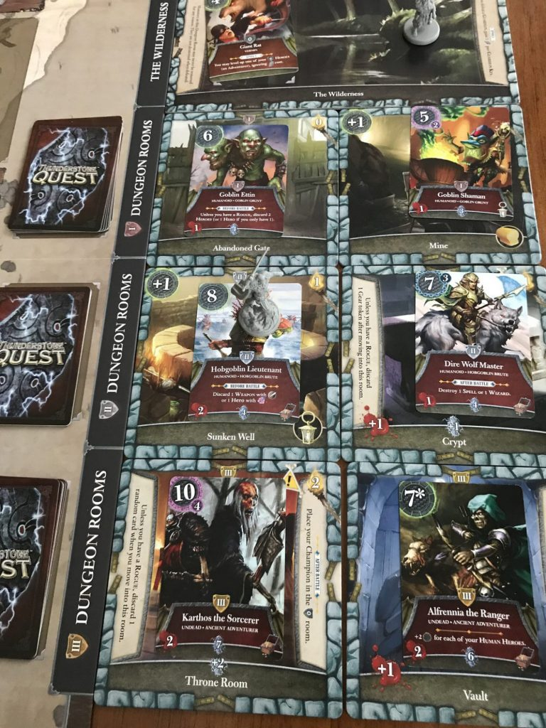 Thunderstone Quest dungeon tiles