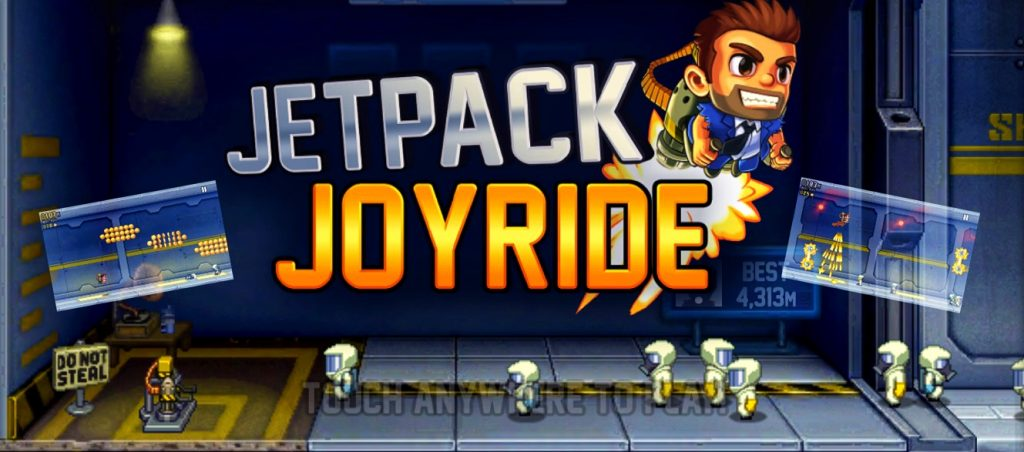 Jetpack Joyride mobile screen