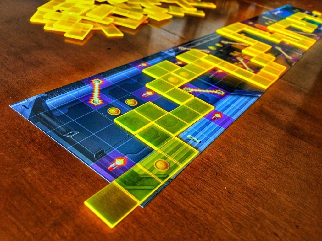 Jetpack Joyride maze tiles with start example