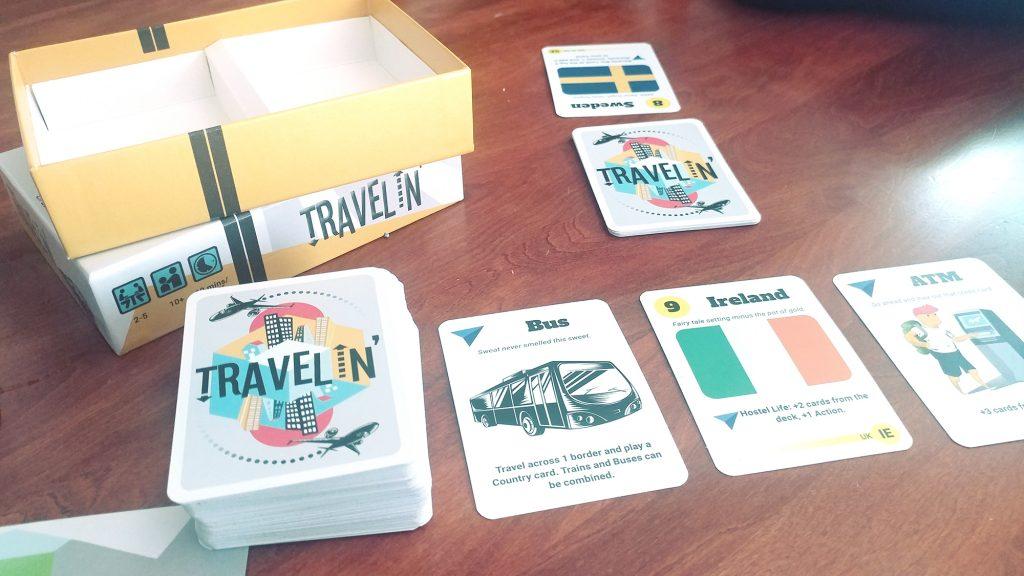 Travelin' setup