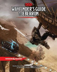 Wayfinder's Guide to Eberron cover