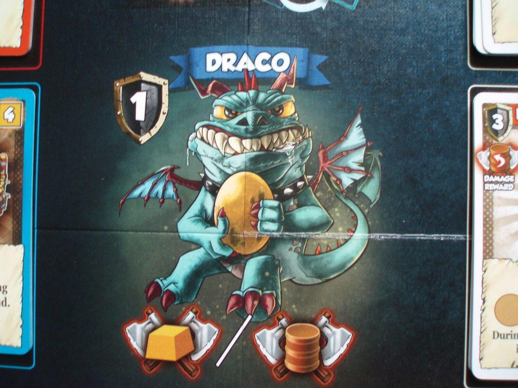 Draco the feeble dragon