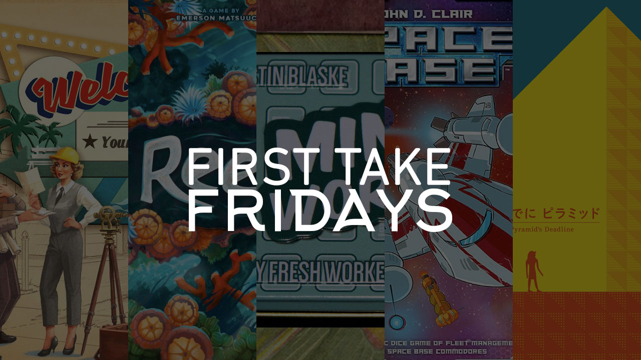 First Take Friday - Welcome to Reefer Madness in the Minty Space Pyramid header