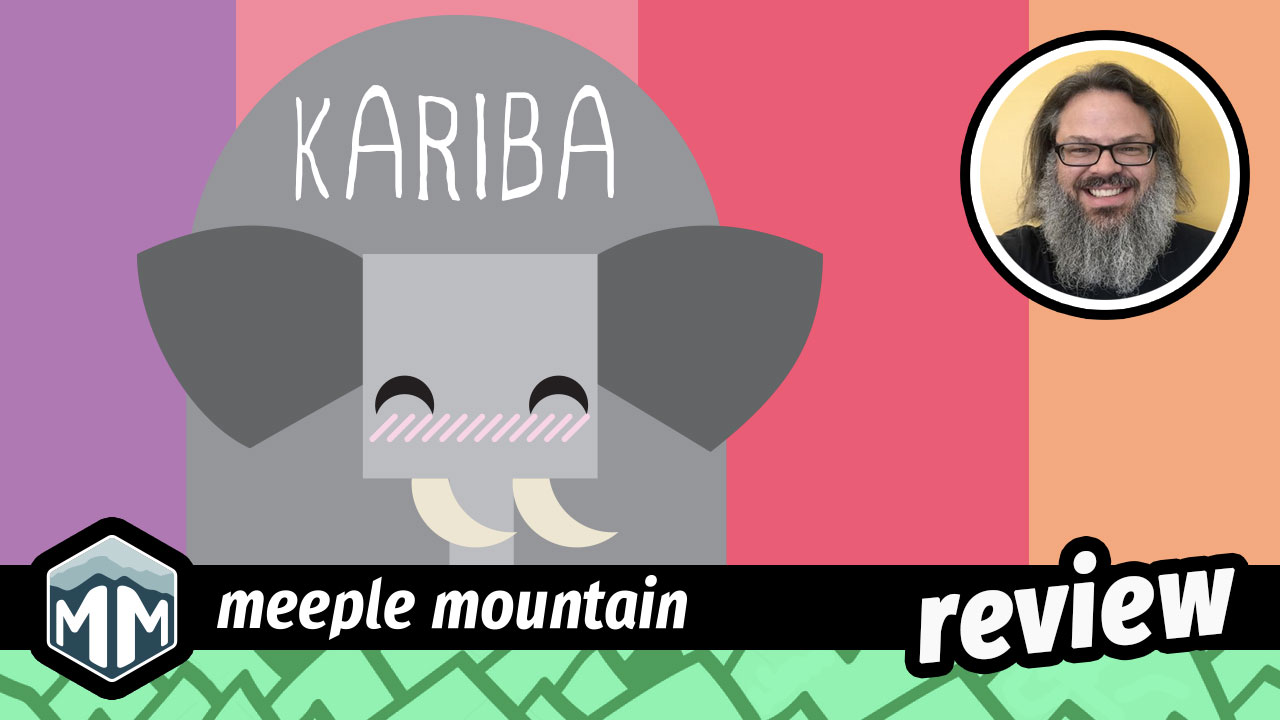 Kariba Review - Control the Watering Hole, Win the Game | Meeple Mountain image