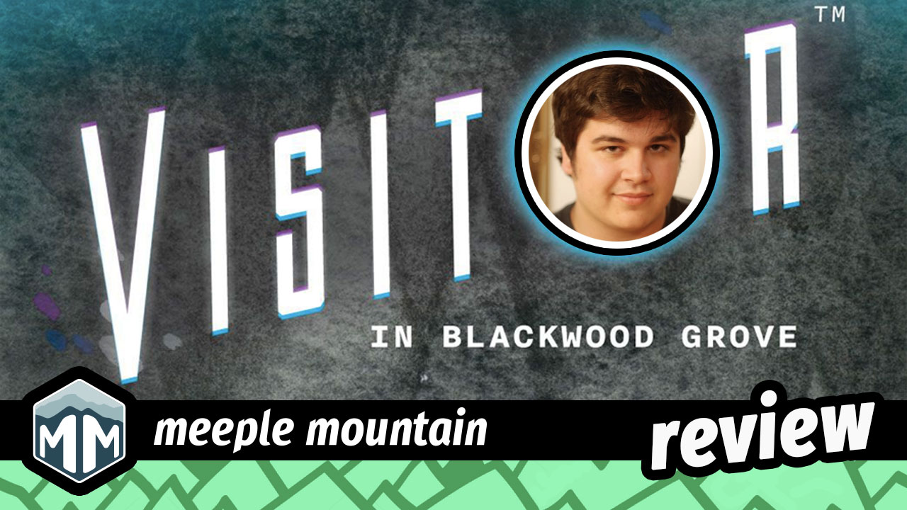 Visitor in Blackwood Grove Review - Aliens, Agents, and Kids, Oh My! | Meeple Mountain image