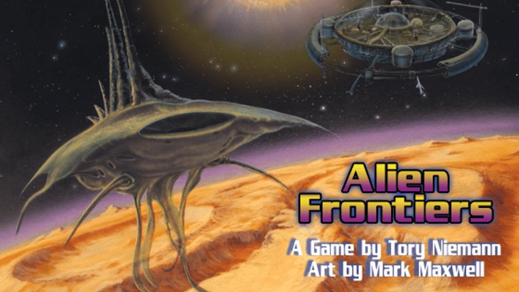 Alien Frontiers kickstarter banner