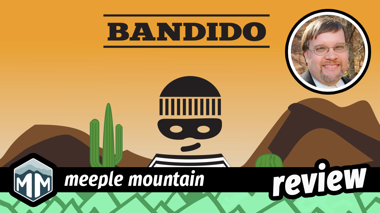 Bandido Review - It's a Game About Tunnels, Ya Dig? | Meeple Mountain image