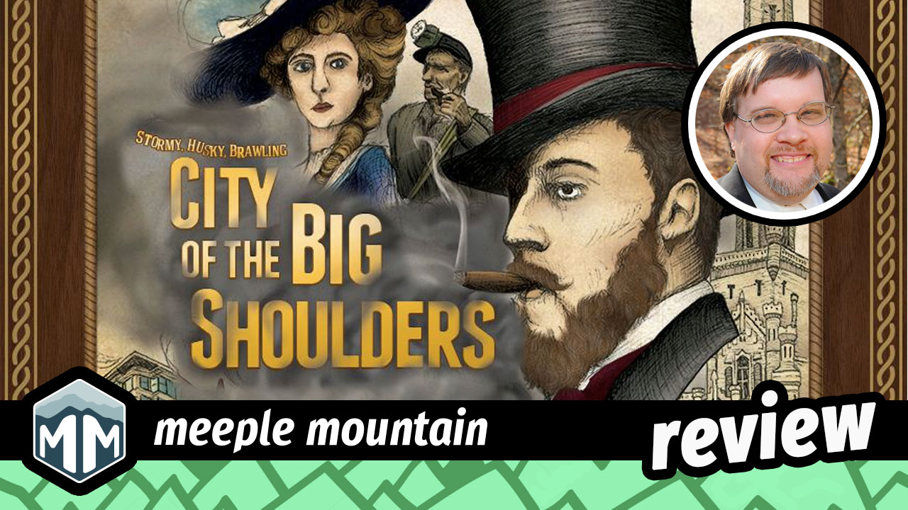 City of the Big Shoulders Review - A Phoenix Rising | Meeple Mountain image